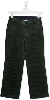 Stella McCartney TEEN corduroy combo cord trousers