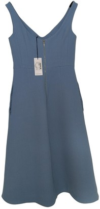Carven Blue Wool Dresses