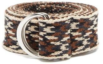 Isabel Marant Balknit D-ring Belt - Brown