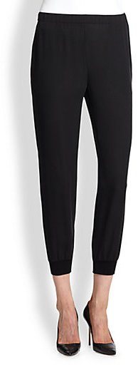 Theory Arai Silk Double Georgette Pants