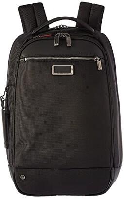Briggs & Riley @work Medium Slim Backpack (Grey) Backpack Bags