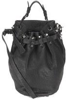 Alexander Wang Women's Diego Pebble Leather Bag Black/Nickel Hardware