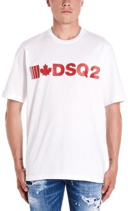 DSQUARED2 Logo Print Crewneck T-Shirt