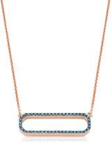 Monica Vinader Naida Rectangle Open Necklace