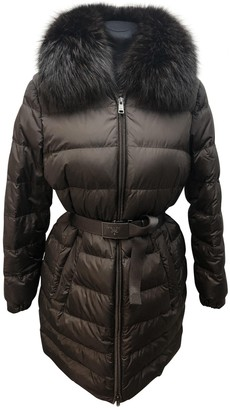 Prada Brown Faux fur Coat for Women