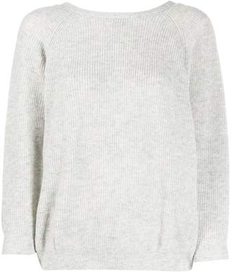 BA&SH long-sleeve fitted top
