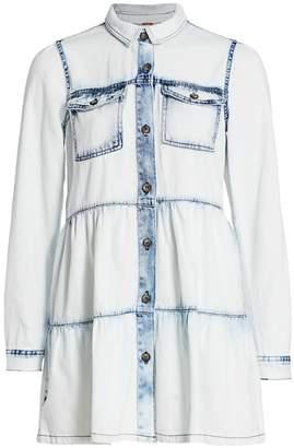 Free People Nicole Denim Shirt Dress