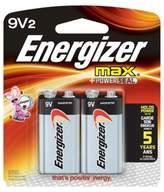 Energizer Max 2-Pack 9-Volt Alkaline Batteries
