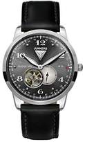 Junkers Men's Automatic Watch Dessau 1926 Flatline Analogue XL Leather 63602