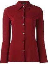 Ann Demeulemeester classic crepe shirt - women - Silk/Elastodiene/Rayon - 38