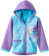 "Disney Disney's Frozen Girls 2-8 Elsa ""Make Your Own Magic"" Rain Coat"