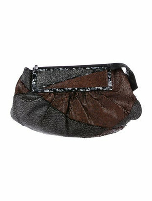 Fendi To You Convertible Clutch Brown