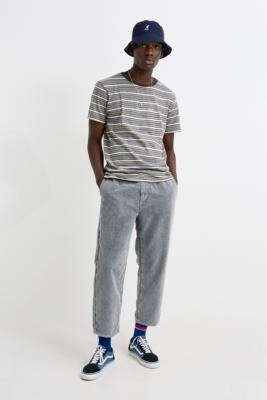 Urban Outfitters Iets Frans... iets frans... Acid Wash Soft Corduroy PJ Pants - grey 28W 30L at
