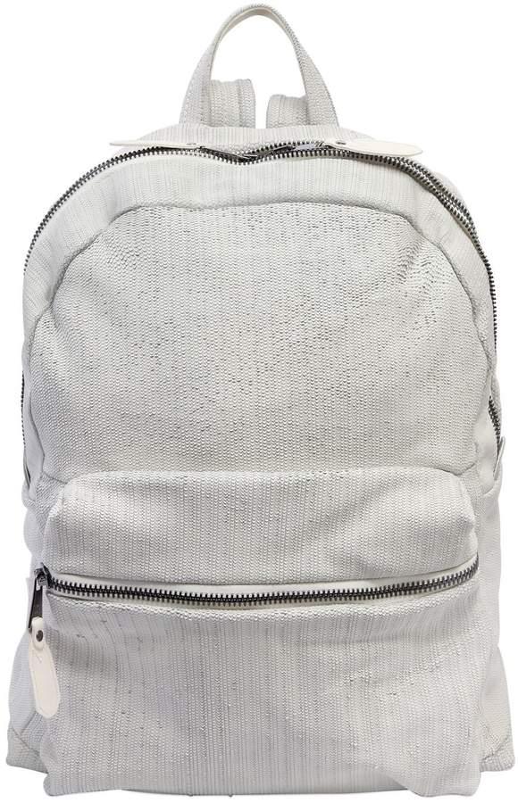 Giorgio Brato Laser-Cut Leather Backpack