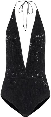 Oseree Exclusive to Mytheresa Paillettes swimsuit