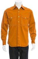 Dunhill Long Sleeve Button-Up Shirt