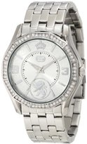 Ecko Unlimited Rhino by Women's E8M061MV Stone On Metal Trend Inspired Watch