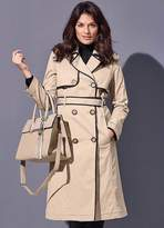 Kaleidoscope Longline Trench Coat