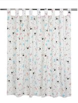 George Home Floral Curtains - 66x54 inch