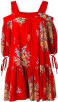 Alexander McQueen floral-print mini dress