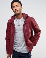 Farah Rampton Hooded Zip Thru Jacket