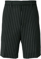 Versace pinstriped shorts