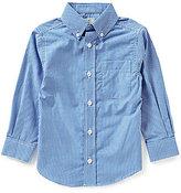Class Club Little Boys 2T-7 Button-Front Gingham Shirt