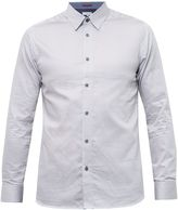 Ted Baker Tidal Geo Print Cotton Poplin Shirt