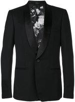 Alexander McQueen tuxedo blazer - men - Silk/Polyester/Viscose/Mohair - 48