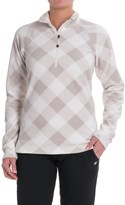 Eddie Bauer Quest Printed Shirt - Zip Neck, Long Sleeve (For Women)