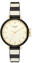 Kate Spade Women's Park Row Silicone Strap Watch, 34Mm