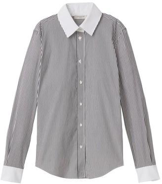 Lafayette 148 New York Davitt Centennial Stripe Shirt