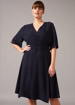 Phase Eight Joss Jacquard Dress