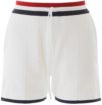 Thom Browne Contrasting Trim Drawstring Shorts