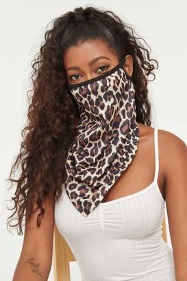Ardene Reusable Leopard Face Covering