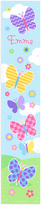 Olive Kids Butterfly Garden Personalized Growth Chart Wall Decal