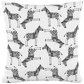 One Kings Lane Mason 20x20 Pillow - Black/White