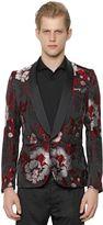 Christian Pellizzari Floral Jacquard Evening Jacket