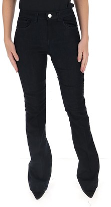 Pinko Flared Logo Patch Jeans