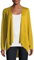 Eileen Fisher Long Slouchy Sleek Knit Cardigan, Petite