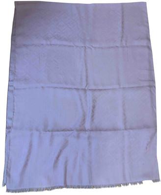Fendi Pink Wool Scarves