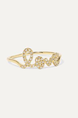 Sydney Evan Love 14-karat Gold Diamond Ring - 6