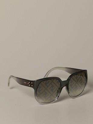 Fendi Acetate Glasses With Ff Monogram