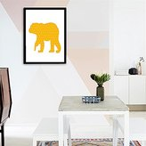 Rosbane£ ̈TM£© Cotill Design Modern Polar Bear Wall Pictures For Home Decoration Wall Decor NO Frame Canvas Poster Canvas Decorative Pictures