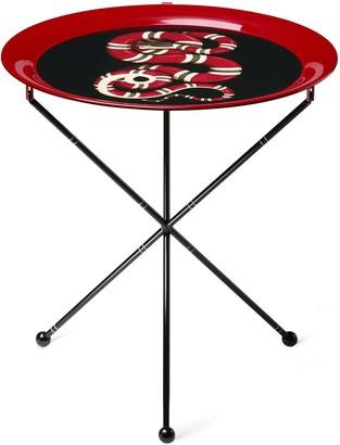 Gucci Kingsnake folding side table