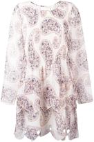 See by Chloe paisley print tiered dress