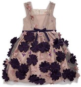 Marchesa Mini Little Girl's & Girl's Floral Applique Tulle A-Line Dress