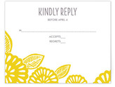 Minted Bold Block Print RSVP Postcards