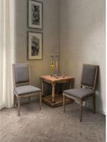 ZUO Cole Valley Linen Chair in Beige (Set of 2)