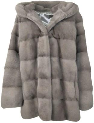 Saga Furs Silver Mink Coats